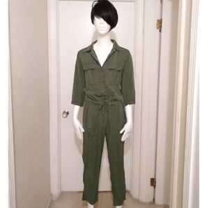 Army Green Topshop Jumpsuit size 8